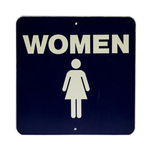 """Women's"" Room Stadium Sign"