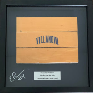 Eric Paschall Signed Basketball Court Wood Shadow Box (Triple)