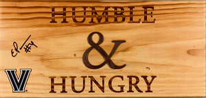 "Eric Paschall Autographed ""Humble & Hungry"" Sign"