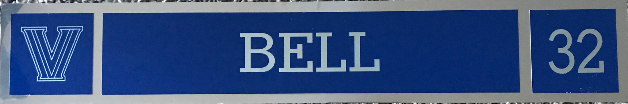 James Bell Locker Nameplate