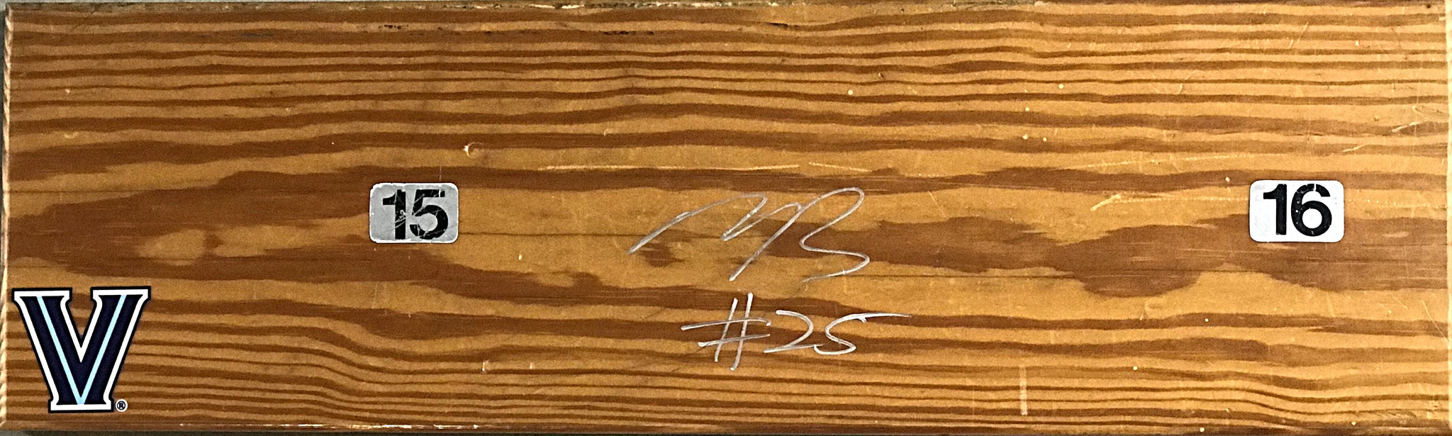 Mikal Bridges Signed Bench