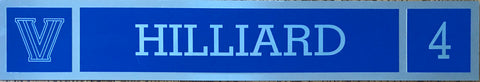Darrun Hilliard Locker Nameplate