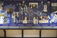 Media Room Mural Panel, Rollie Massimino, Whitey Rigsby and the Herron brothers