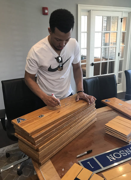 Jalen Brunson Signed Bench