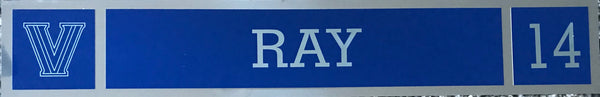 Allan Ray Locker NamePlate
