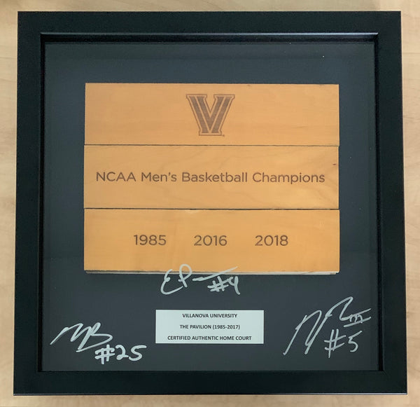 NCAA Champions Shadow Box Signed by Bridges, Paschall and Booth!
