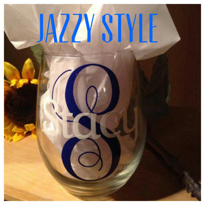 Personalized StemLess Sippers