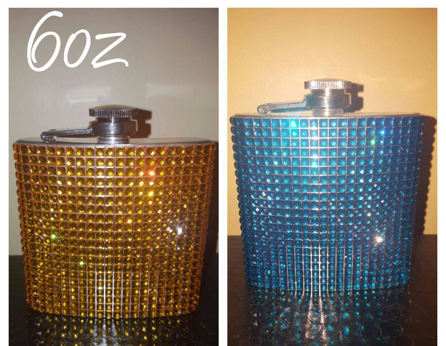 Blingy Flask (6oz) ~ 2 for $18 *CLEARANCE