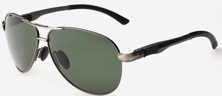 Classic Mens Aviator Polarized Shades - BLACK FRIDAY SALE