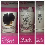 """Queen Diva"" Mugg (20oz) - She is Blessed"