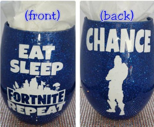 """Fortnite Series"" Flossy Personaliz'd StemLess Sipper (21oz)"