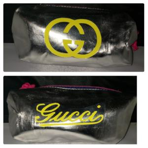 Metallic Luxury Make Up Bag ~SALE