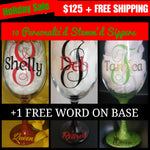 Personalized Stemm'd Sipper (Bundle Pack of 10)