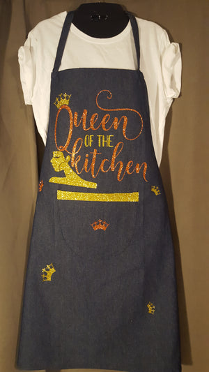 """Queen of the Kitchen"" Apron - SALE"