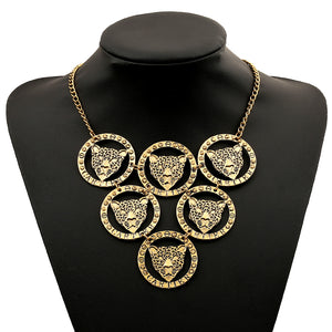 Leopard head tier necklace - Birthday sale $8 limited quantities