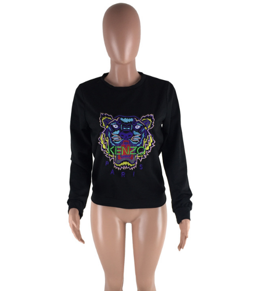 """Kenzo inspired"" long sleeve sweat top -CLEARANCE - ONLY $12"