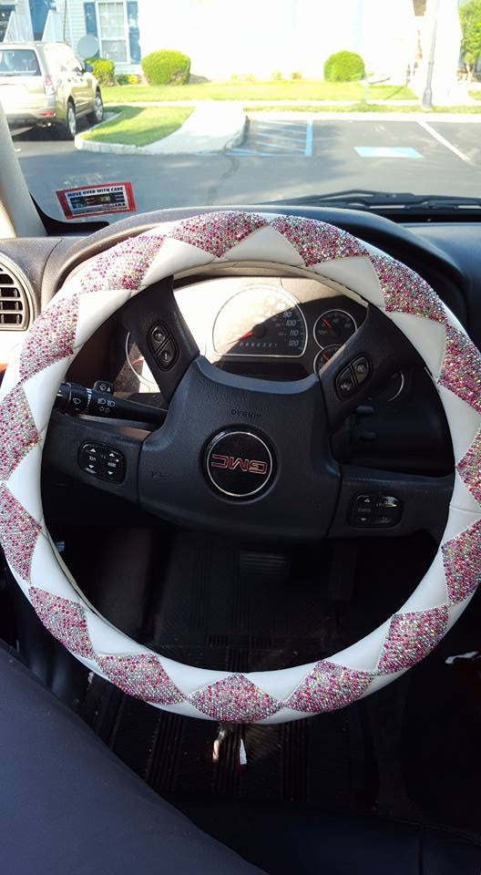 Blingy Handmade Steering Wheel Cover *CLEARANCE*