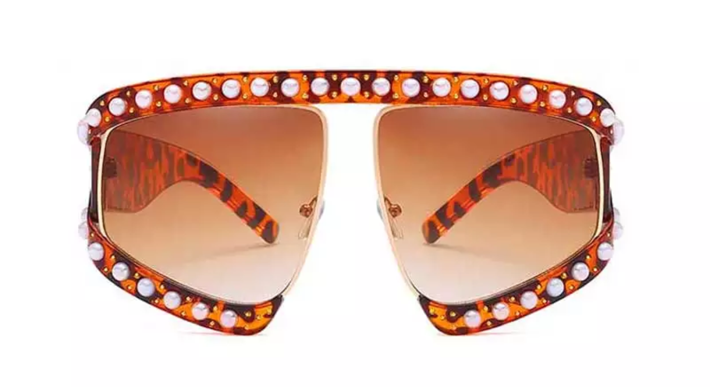 Pearl Goggle Over-sized Shades *SALE*