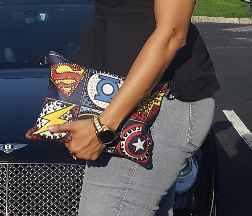 Shero Super~Hero klutch bag ~ SALE