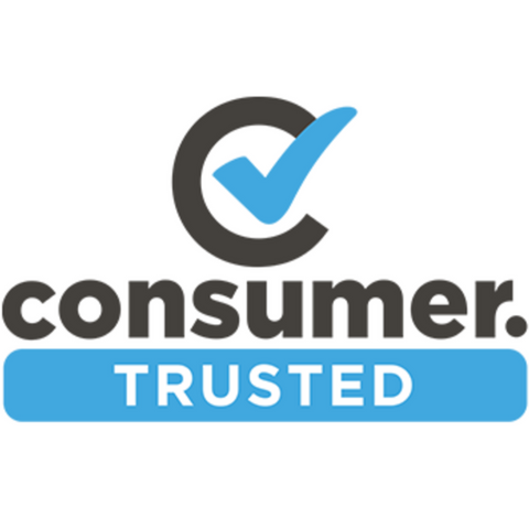 Blue and black Consumer NZ Trusted Logo