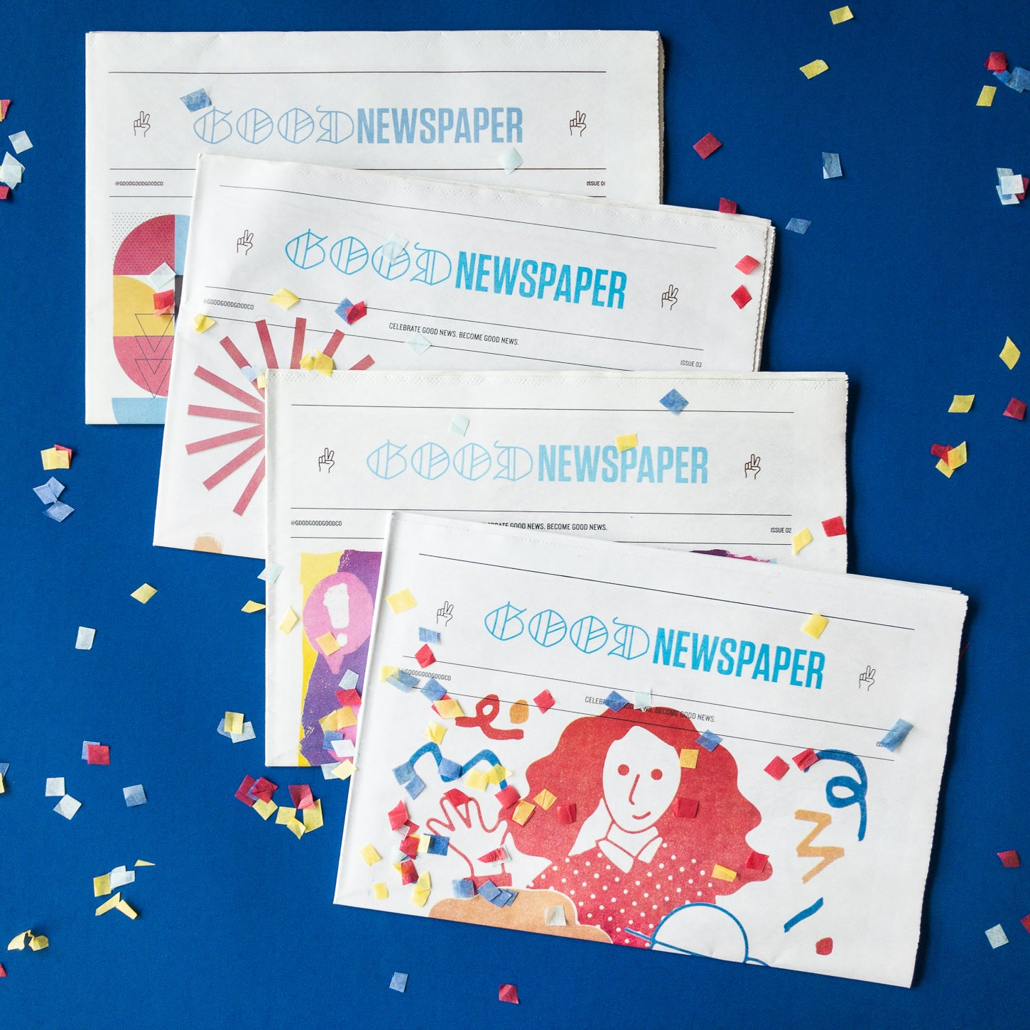 Goodnewspaper - A newspaper filled with good, positive news