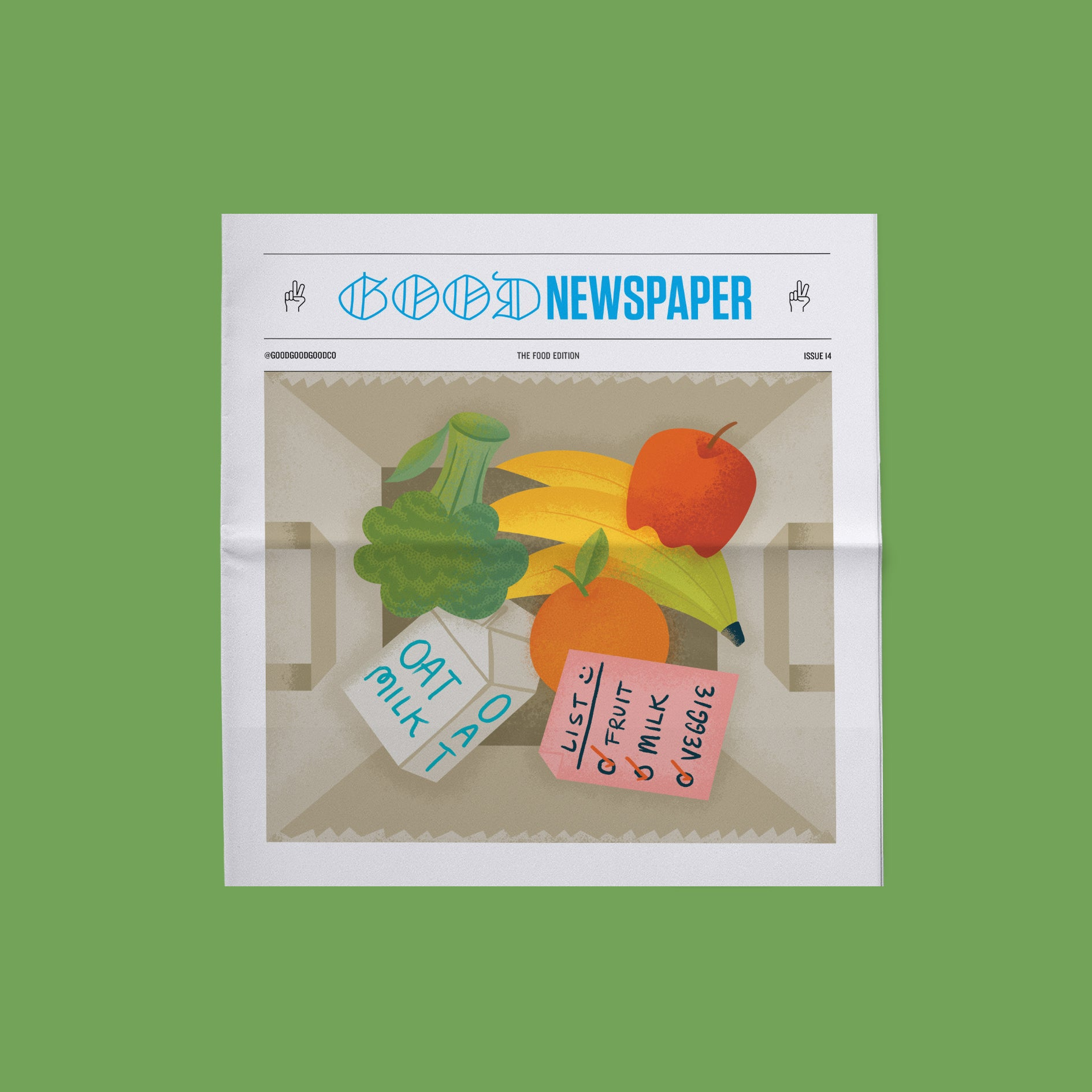 Goodnewspaper: The Food Edition