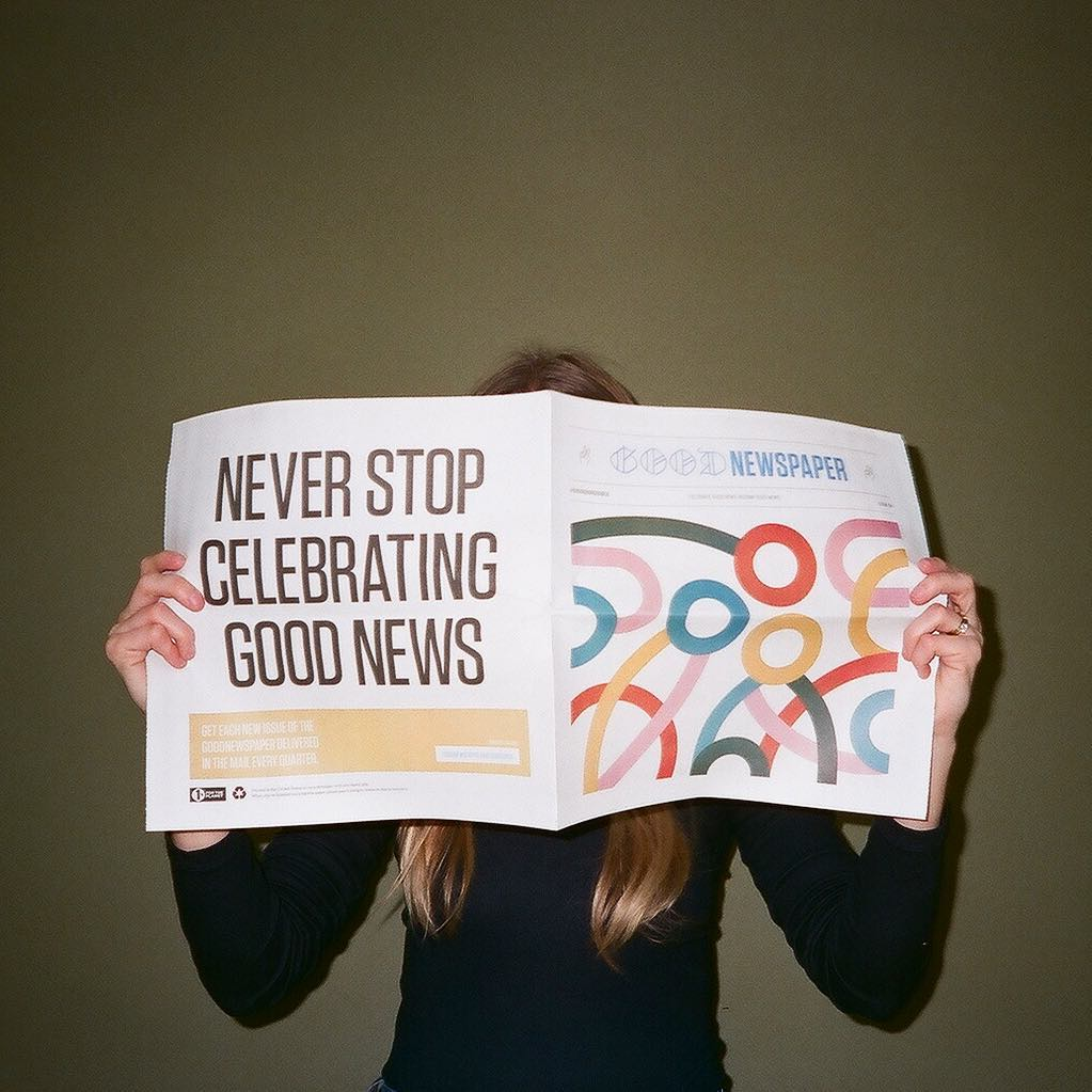 Goodnewspaper - Subscribe & Save