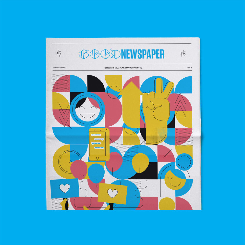 Goodnewspaper Issue 01