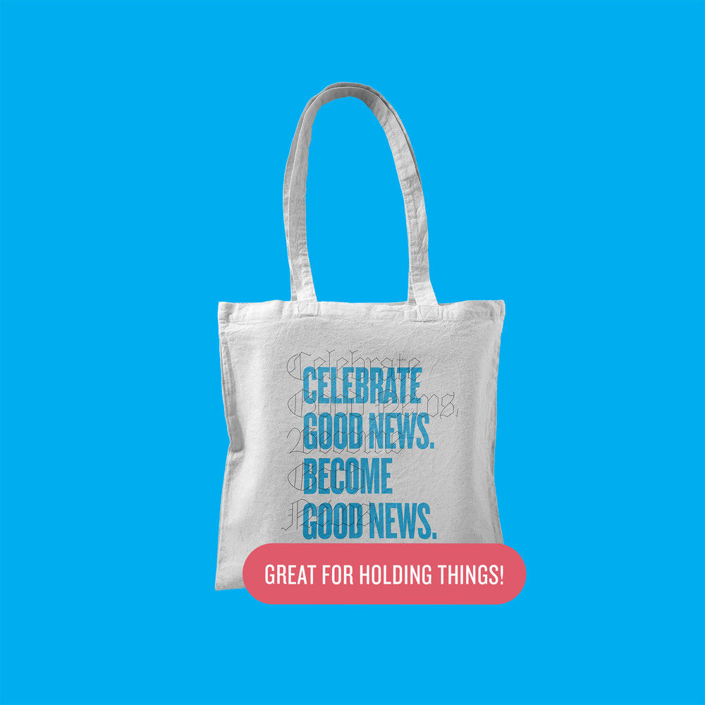 Good News Canvas Tote Bag
