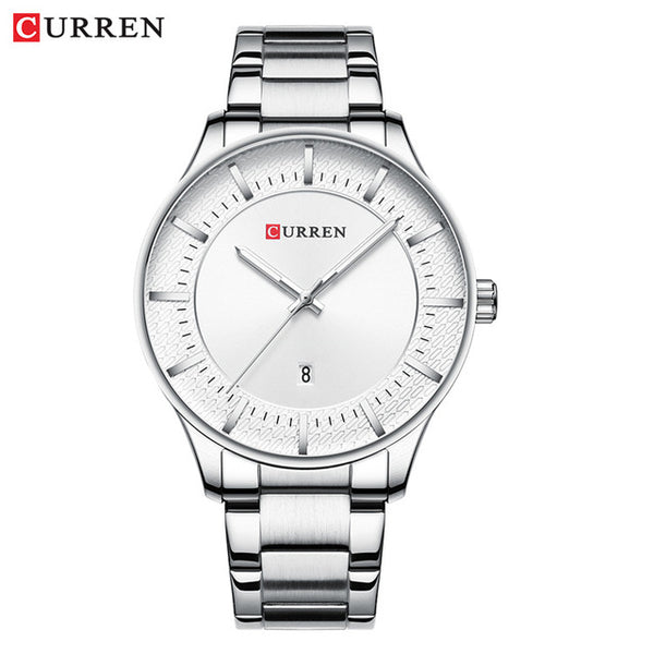 Top Brand Curren Luxury Mens Wristwatches Fashion Black Quartz Wristwatch Men Waterproof Casual Wrist Wristwatch Male