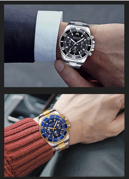 MEGALITH Reloj Hombre 2018 Fashion Casual Watch Men Waterproof Analog 24 Hour Date Quartz Watches Sports Chronograph