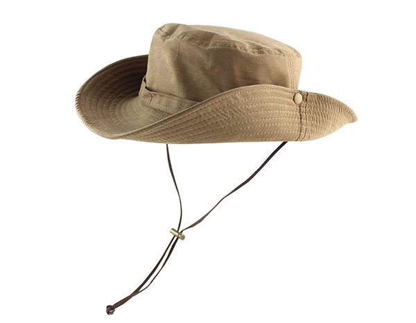 UPF 50+ Bucket Hat Summer Men Women Fishing Boonie Cap Sun UV Protection Long Large Wide Brim Bob Hiking Sun Hat Outdoor Safari