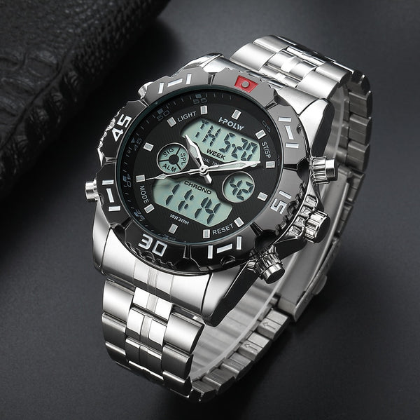 Men's Top Brand Luxury Digital-watch  New Sport Wristwatch Men  Male LED Digital Quartz Wrist Wristwatches
