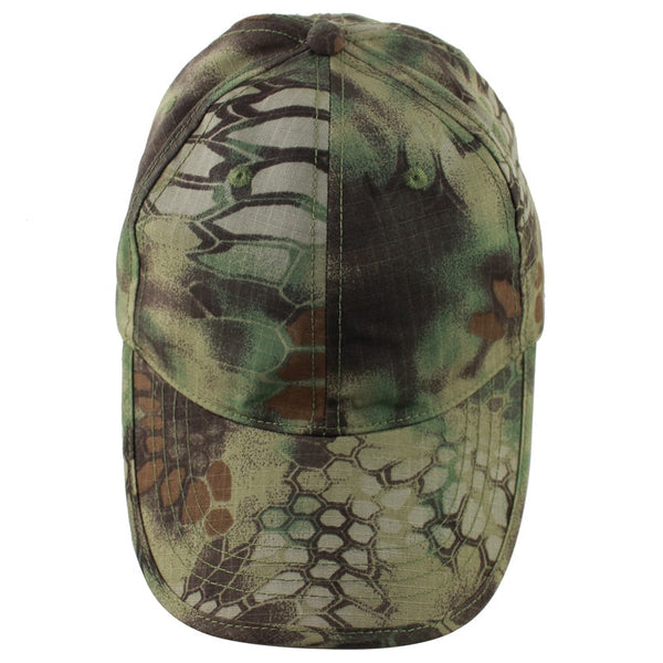 2019 New Army Camouflage Military Cap Outdoor Breathable Tactical Caps Sunshade Mountaineering Hiking Spring Summer Casual Cap