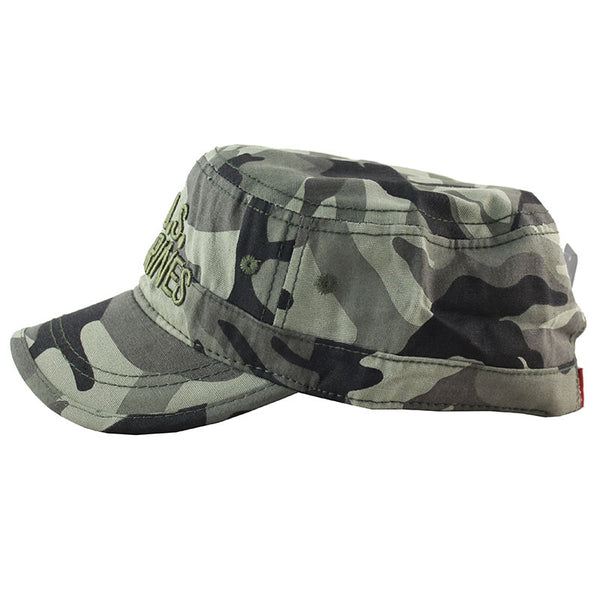 2019 Brand New Spring Autumn Flat Mens Caps Casual US Army Cap Outdoor Sports Snapback for Men Tactical Camouflage Hat