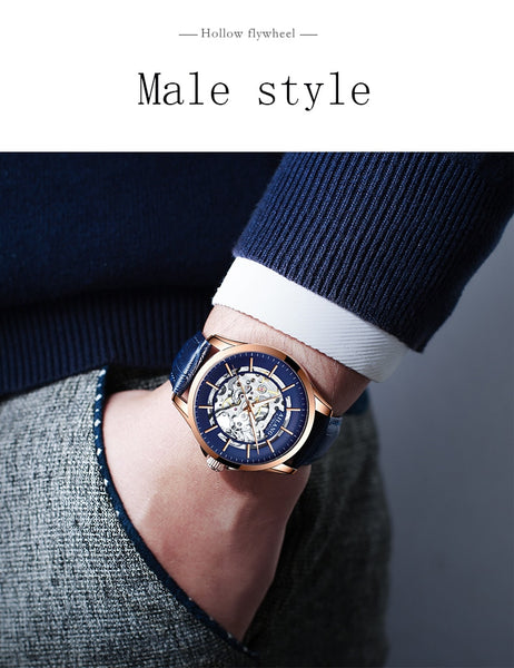 Ailang 2019 new watch men's mechanical watch automatic genuine brand-name student trend men's watch