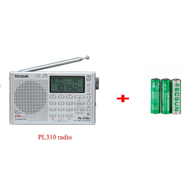 Tecsun PL-310ET Full Radio Digital Demodulator FM/AM/SW/LW Stereo Radio Portable Internet Radio For English Russian User