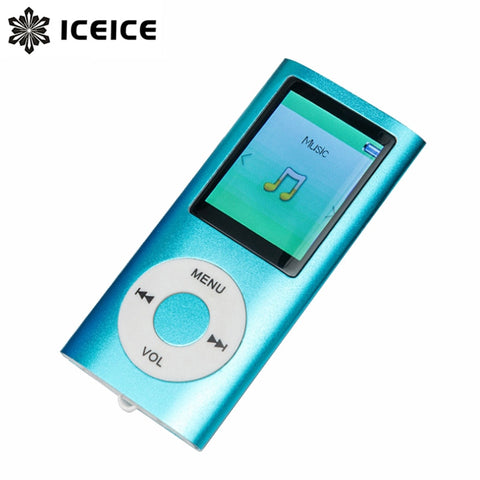 ICEICE 1.8 inch mp3 player 16GB 32GB Music player with fm radio video player E-book player MP3 with Micro SD Card hifi MP 3 mp-3