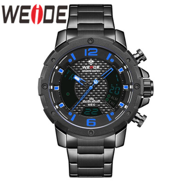 WEIDE Watch Men Top Brand Luxury Watch Automatic Date Military Quartz Movement Analog  Wristwatches Relogio Masculino Watch