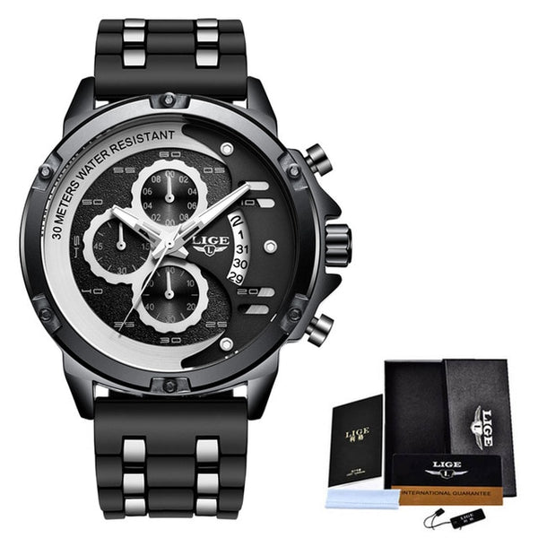 2020 LIGE New Fashion Mens Watches Top Brand