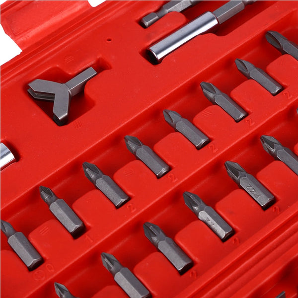 100pcs Security Hex Bit Tool Set Torx Hex Drill Star Spanner Screw Driver Tri-wing Torx Spanner Hex Fasteners Screwdriver Bit