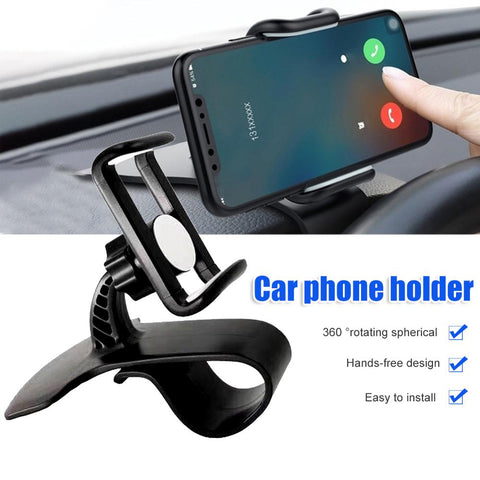 Universal 360 Degree Rotation Car Auto Dashboard Mobile Phone Stand Holder Clip For Car Dashboard Phone Holder Accessories