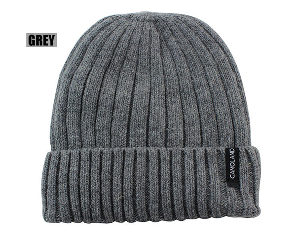 Wool Beanies Knit Men's Winter Hat Caps Skullies Bonnet Winter Hats For Men Women Beanie Warm Baggy Outdoor Sports Hat Fleece