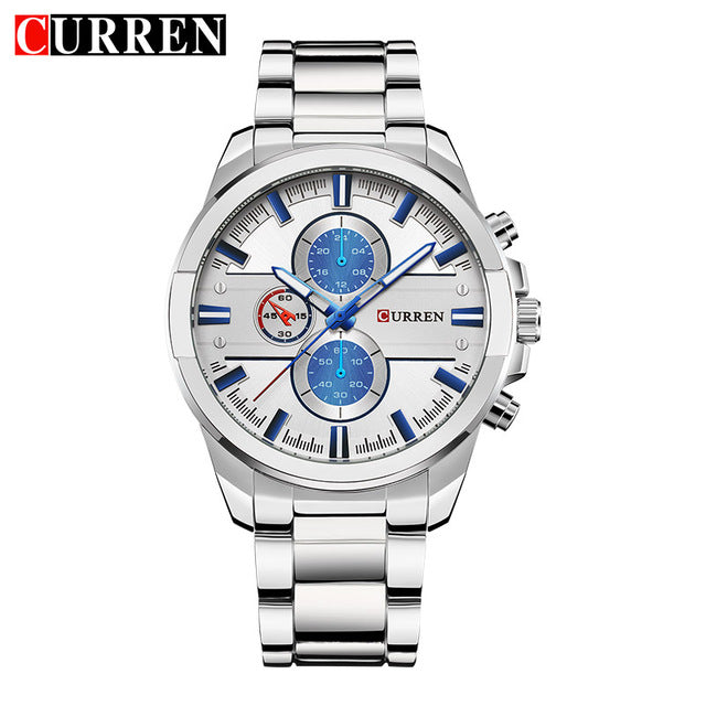 Curren 8274  Wristwatch Men  top brand quartz Wristwatch fashion casual