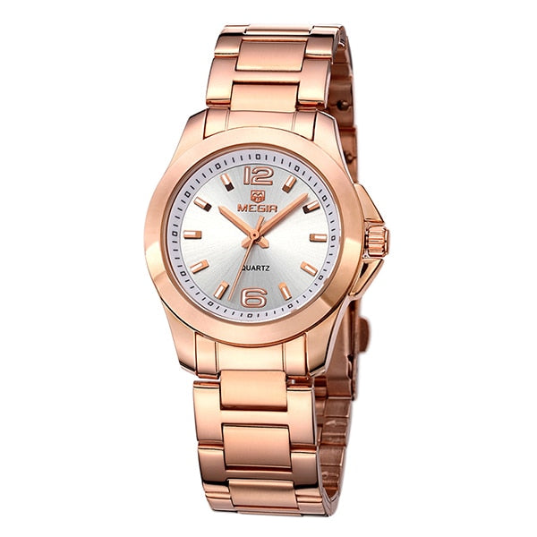 MEGIR Fashion Women Wristwatcheso Brand Luxury Lovers Quartz WristWristwatch  Women Montre Femme Ladies Wristwatch 5006