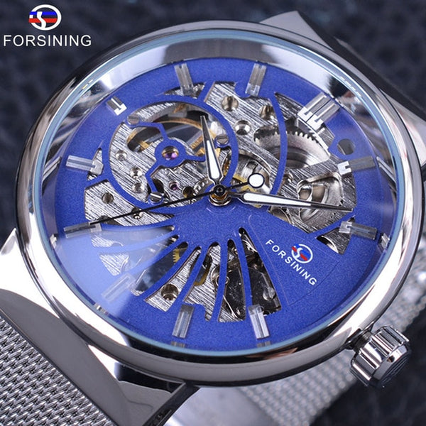 Forsining Fashion Luxury Thin Case Unisex Design Waterproof Mens Samll Dial Watches Top Brand Luxury Mechanical Skeleton Watches