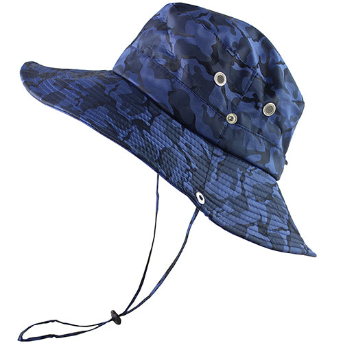 UPF 50+ Bucket Hat Men Women Bob Boonie Hat Summer UV Protection Camouflage Cap Military Army Hiking Tactical Outdoor Sun Hat