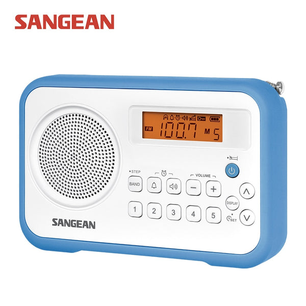 Sangean PR-D18 AM/FM/Clock Portable Digital Radio