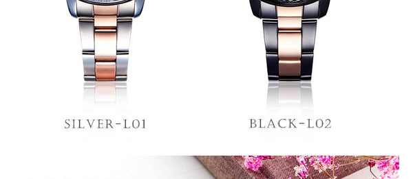 Shengke Rose Gold Wristwatch Women Quartz Wristwatches Ladies Top Brand Crystal Luxury Female  Wristwatch Girl   Feminino