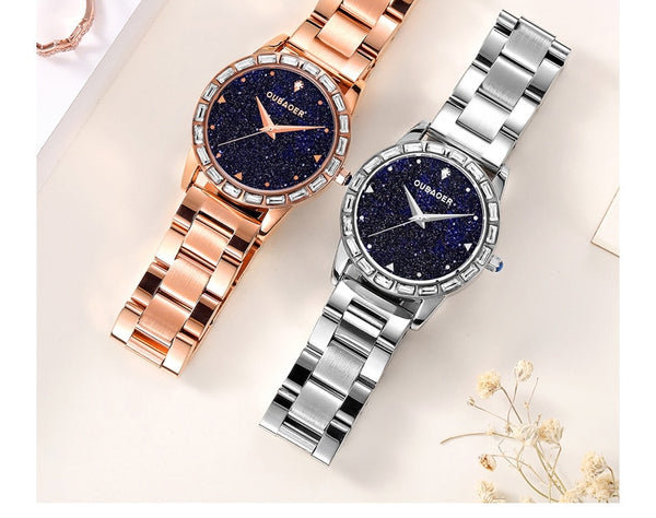 OUBAOER Brand watch relojes mujer  relogio feminino ladies watch wristwatches women  women quartz watch horloge saat